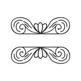 Ramowy ornament dla tytułować zaproszenia lub poślubiać ilustracji