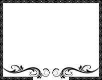 ramowy ornamentacyjny Obraz Stock