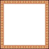 ramowy ornamentacyjny rosjanin Zdjęcia Stock