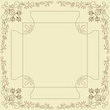 ramowy ornamental Fotografia Stock