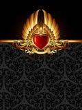 ramowy ozdobny Obrazy Royalty Free