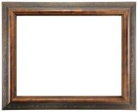 ramowy ozdobny drewniany zdjęcia royalty free