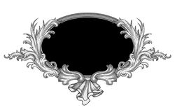 ramowy ozdobny wektor Obraz Royalty Free