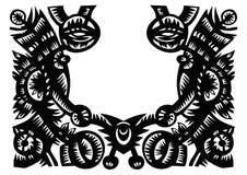 ramowy ozdobny wektor Obrazy Royalty Free