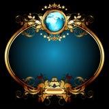 ramowy ozdobny świat Zdjęcia Royalty Free
