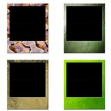 ramowy polaroid Fotografia Royalty Free