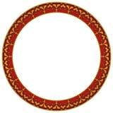 ramowy round Obraz Royalty Free