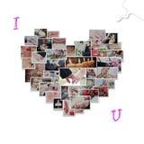 ramowy serce Fotografia Stock