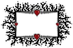 ramowy serce Zdjęcia Stock
