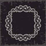 ramowy skryty ilustracyjny styl symetryczne rocznik wektor Zdjęcia Royalty Free