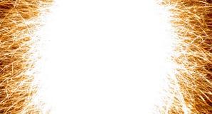 ramowy sparkler Zdjęcia Stock