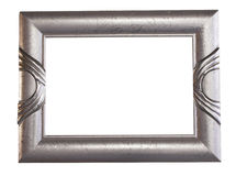 ramowy srebra Obrazy Royalty Free
