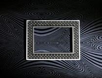 ramowy srebro obrazy stock