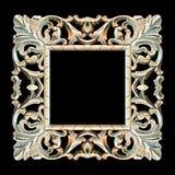 ramowy stary drewniany Obraz Royalty Free