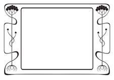 Ramowy stylowy Nowożytny Obraz Stock