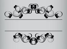 ramowy stylowy rocznik royalty ilustracja