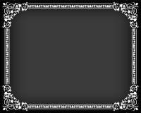 ramowy stylowy tekstylny rocznik Obraz Royalty Free