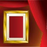 ramowy tła złoto Fotografia Royalty Free