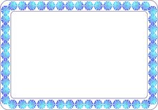 Ramowy tło wzór dla tekst fotografii Obrazy Royalty Free