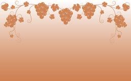 ramowy winogrono Zdjęcia Royalty Free