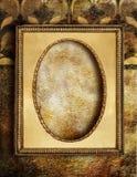 ramowy złoty Zdjęcia Royalty Free