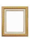 ramowy złocisty obrazek Royalty Ilustracja