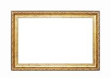 ramowy złocisty obrazek Obrazy Stock