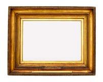 ramowy złocisty obrazek zdjęcia royalty free