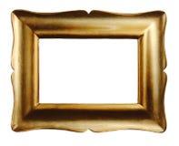 ramowy złocisty obrazek Fotografia Royalty Free