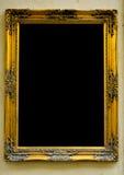 ramowy złocisty rocznik Zdjęcie Royalty Free