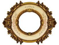 ramowy złocisty stary Zdjęcia Royalty Free