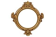 ramowy złoto Obrazy Stock