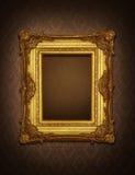 ramowy złoto Zdjęcia Stock