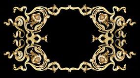 ramowy złoto Obraz Royalty Free