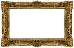 ramowy złoto Obrazy Royalty Free