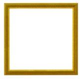 ramowy złoty Fotografia Stock
