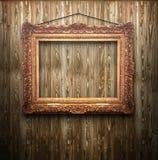 ramowy złoty stary Obrazy Stock