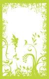 ramowy zielone światło ilustracji