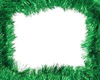 ramowy zielony świecidełko Zdjęcie Royalty Free