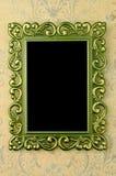 ramowy zielony stary Zdjęcie Stock