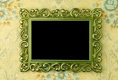 ramowy zielony stary Fotografia Stock