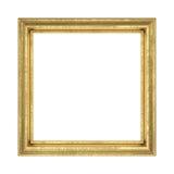 ramowy złoty Zdjęcie Stock