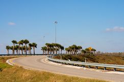On Ramp. Interstate on ramp in Wesley Chapel, Florida Stock Photography
