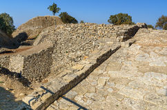 The Ramp in ancient city Troy. Turkey Royalty Free Stock Images