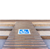 Ramp for disabled Royalty Free Stock Photo