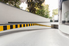 Ramp in modern building Royalty Free Stock Photo