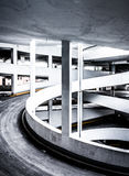 Ramp in a parking garage, in Baltimore, Maryland. Stock Photography