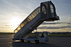 A ramp of the plane Stock Photography