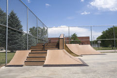 Ramp at Skate Park Royalty Free Stock Photography