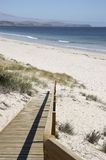 Ramp to the Beach. Ramp leading to the beach Royalty Free Stock Image